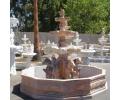 Fuente de mármol rosetta portugués con cerco