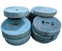 Selección de ruedas de molino realizada en granito