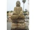 Escultura de piedra oriental de gran tamaño