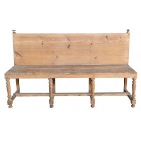 Banco realizado en madera