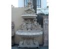 Fuente de pared grande de mármol