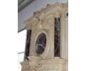 GRAN CHIMENEA MONUMENTAL REALIZADA CON VARIOS TIPOS DE MARMOL