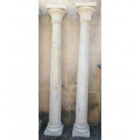 Pareja de columnas de...