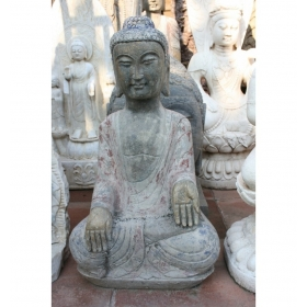 Buda oriental sentado