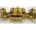 Set de sofa, sillones y mesa