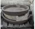 Piedras de molino realizadas en granito y piedra arenisca