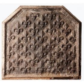 Placa de chimenea de hierro...