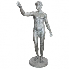 Escultura en bronce de...