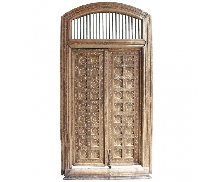 Puerta frontal doble realizada en...