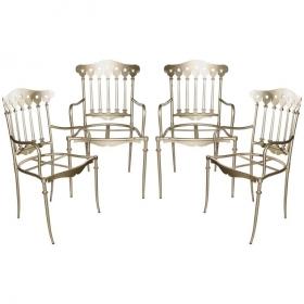 Set de cuatro sillas de...