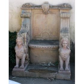 Marble Throne Chair