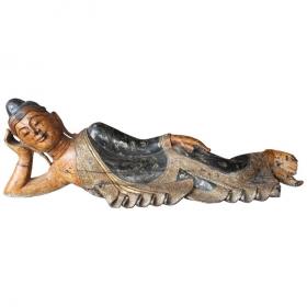 Gran Buda policromado...