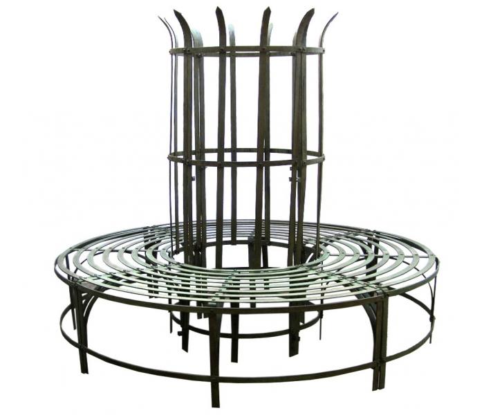 Wrought Iron Tree Seat