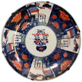 Plato de porcelana japonesa...