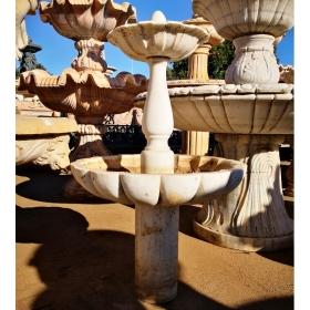 Fuente de jardín realizada...