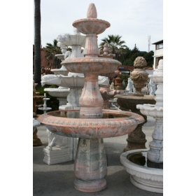 Fuente de mármol rosetta...