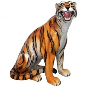 Escultura de tigre de...