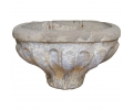 16th Century Stone Conch Shaped Holy Water Stoup