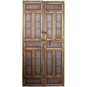 Puerta marroquí de dos...