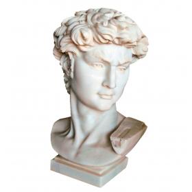Busto del David de Miguel...