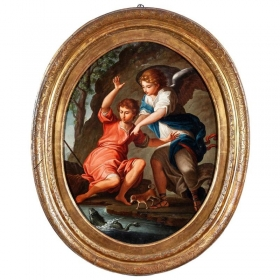 """18th Century Italian """"Saint..."""