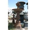 Fuente de hierro de fundición de un plato - decoración jardines