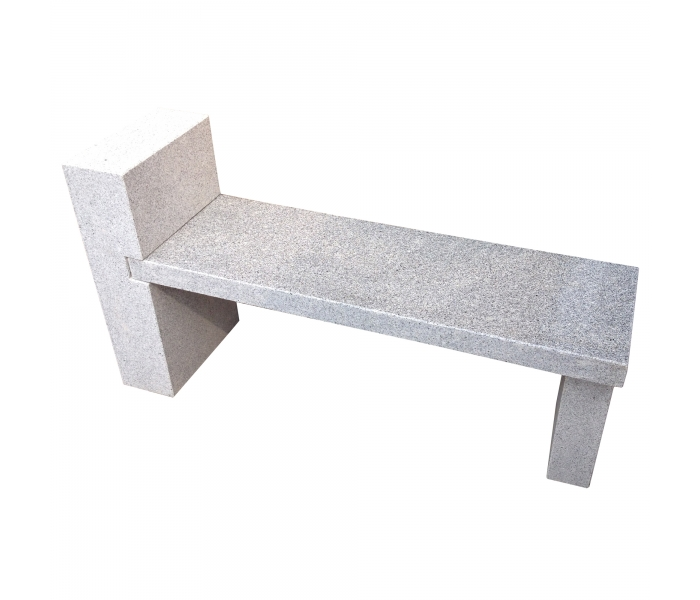 Abstract Granite Bench