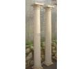 Pareja de columnas de piedra arenisca yellowstone